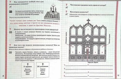 Тетрадь-конспект по Закону Божию (фото, Тетрадь-конспект по Закону Божию)