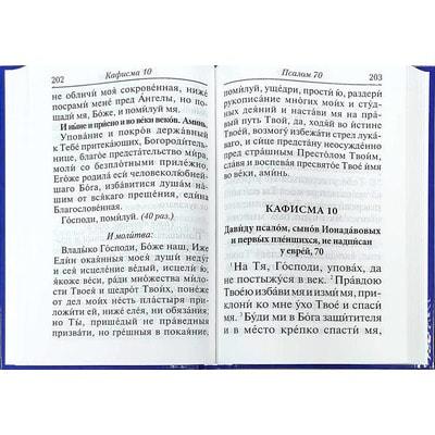 Псалтирь с молитвами о живых и усопших (крупный шрифт). Вид 2