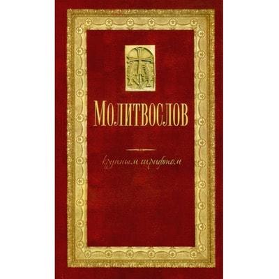 Молитвослов и Псалтирь для слабовидящих. Русский шрифт